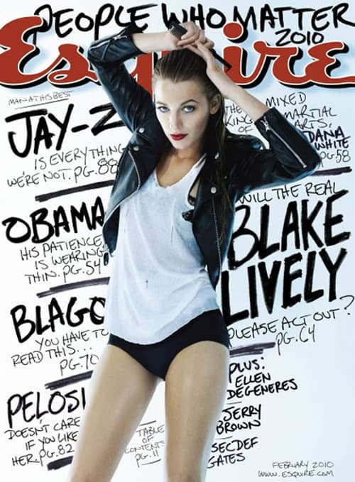 Blake Lively Esquire Cover