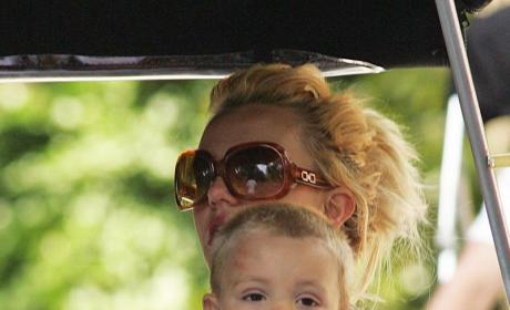 Jayden James Federline and Britney