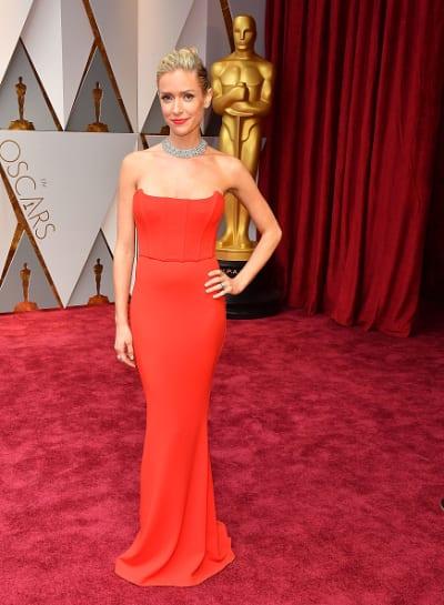 Kristin Cavallari Wears Red
