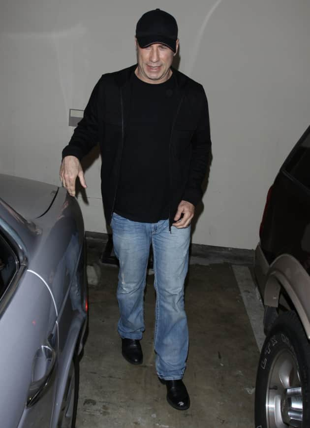 John Travolta at Katsuya