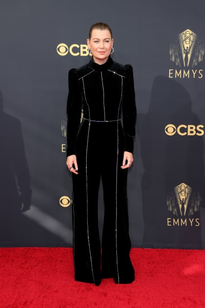 Ellen Pompeo attends the 73rd Primetime Emmy Awards