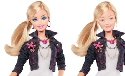 Barbie Without Makeup: Revealed! Sort of Natural!