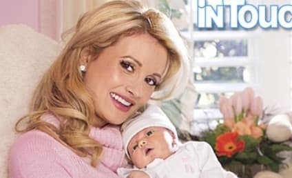 Holly Madison Debuts Baby Rainbow!