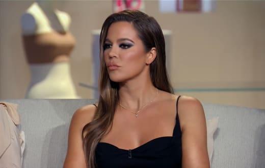 Khloe Kardashian at the Reunion