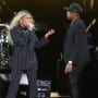 Beyonce and Jay Z on Stage