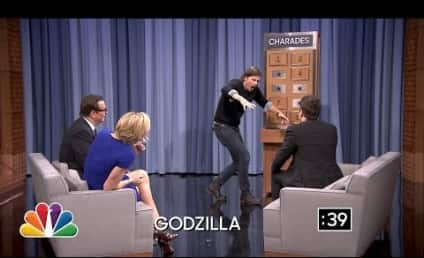 Charlize Theron Battles Josh Hartnett in Hot Game of Charades