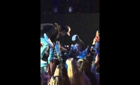 Justin Bieber Storms Off Stage on Norway