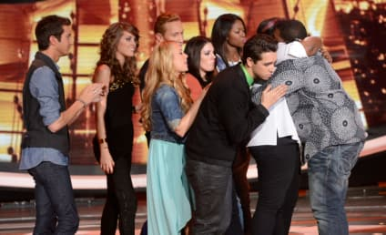 Curtis Finch Jr. Reacts to American Idol Elimination