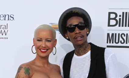 Amber Rose and Wiz Khalifa: Married Apparently!