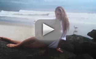 Charlotte McKinney's Boobs Celebrate Christmas! WATCH!