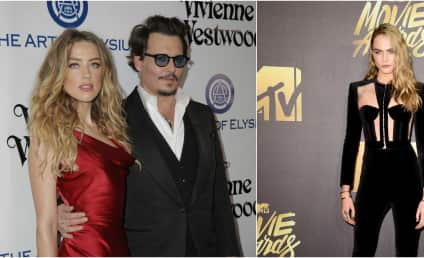 Amber Heard: Cheating on Johnny Depp With Cara Delevingne?
