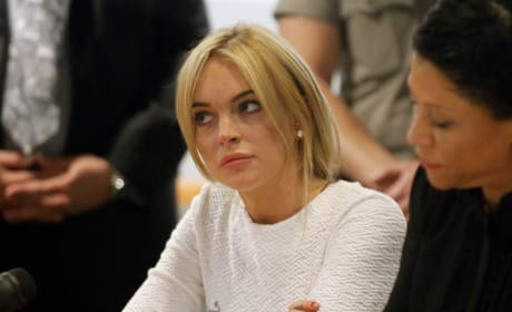Is Lindsay Lohan a thief?