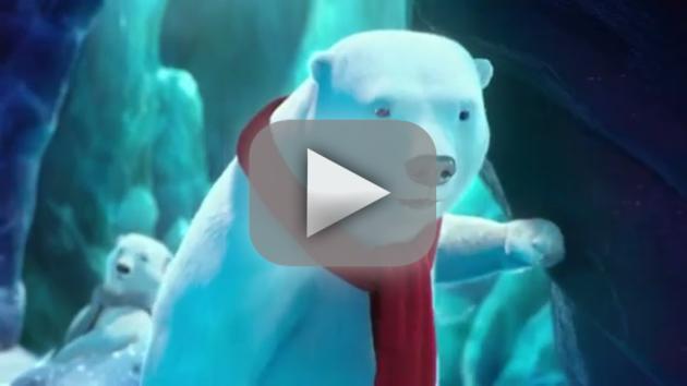Coke Super Bowl Commercial - Polar Bears Play Catch!