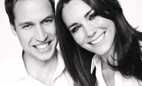William and Kate Wedding Portrait
