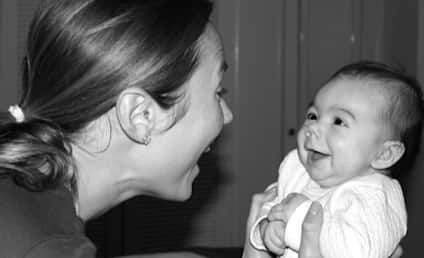 Stacy Keibler Debuts ADORABLE Baby Daughter: See the Pic!