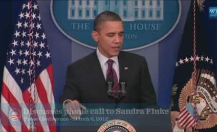 President Obama Supports Sandra Fluke, Invokes Daughters in Slamming Rush Limbaugh Remark