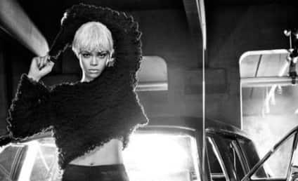 Rihanna: Blond, Masculine For Armani Jeans