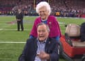 George H.W. Bush Gets HUGE Ovation For Super Bowl Coin Toss