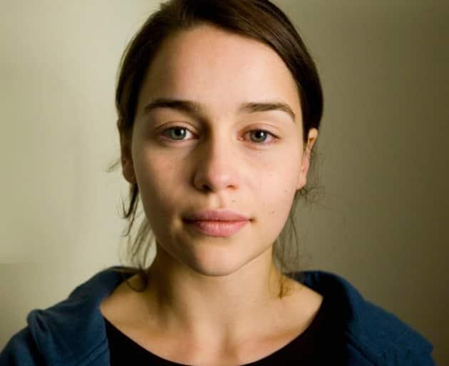 Emilia Clarke No Makeup Photo