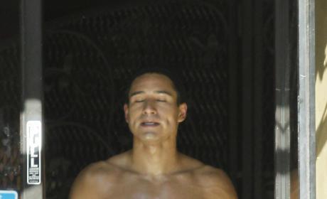 Mario Lopez Shirtless