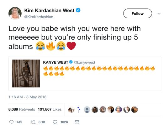 Kim Kardashian on Twitter.com