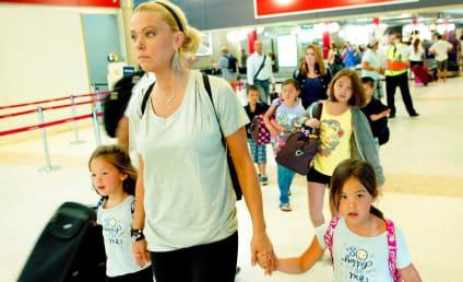 Kate Gosselin, Tired Kids Go Down Under