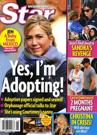 Yes, She's Adopting!