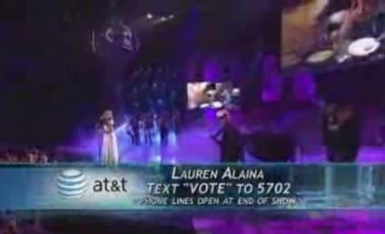 Lauren Alaina: No Voice? No Problem!