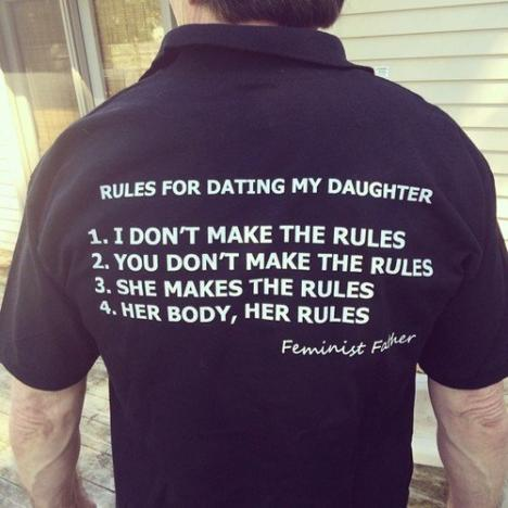 Feminist Father Shirt