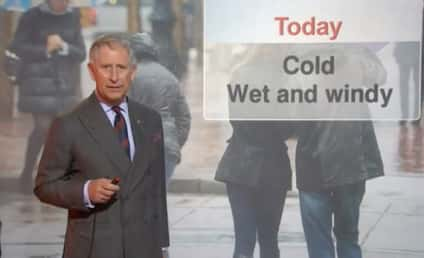 Prince Charles Gives Weather Report on BBC Scotland