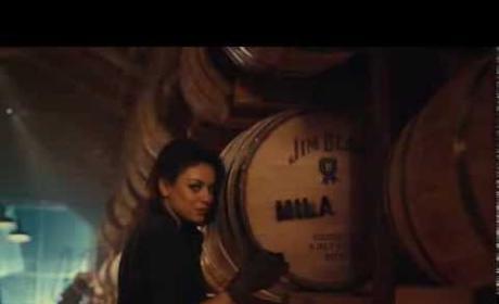 Mila Kunis for Jim Beam