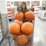 Jana Duggar and Pumpkins
