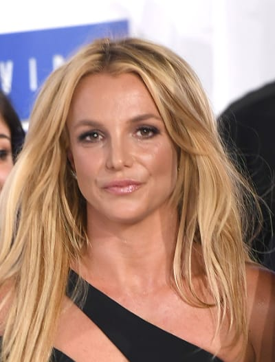 Britney Spears Attends 2016 MTV VMAs