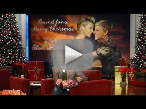 Ellen DeGeneres Christmas Card Reveal