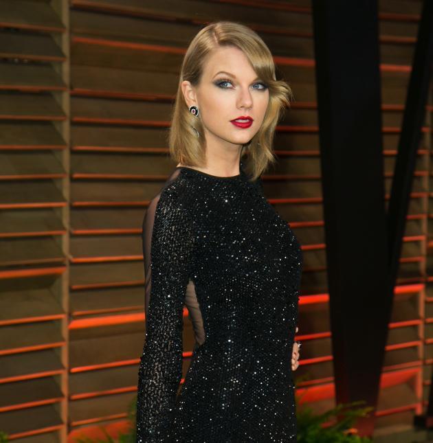 Taylor Swift on Oscars Night