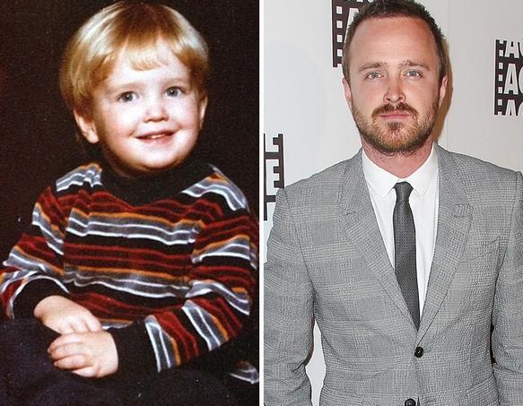Aaron Paul as a Kid
