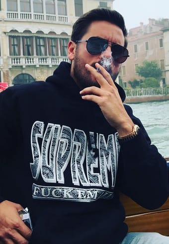 Scott Disick, Smoking in Venice