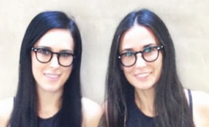 Rumer Willis and Demi Moore: Total Twinning Alert!