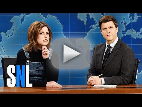 Jennifer aniston reprises her friends role on snl
