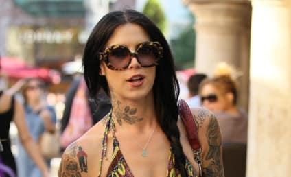 "Kat Von D Walks Off ""Good Day L.A."" Set"