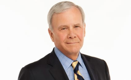 """Tom Brokaw Reveals Cancer Diagnosis, Remains """"Very Optimistic"""" About Recovery"""