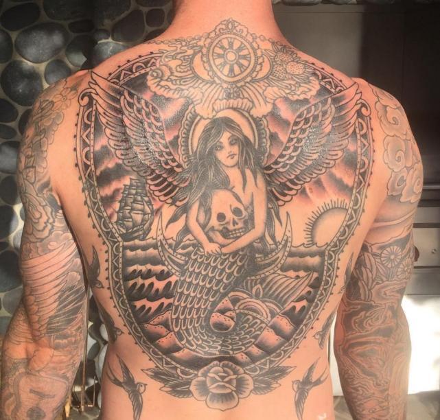 Adam Levine Tattoo