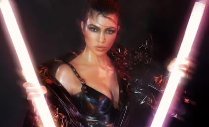Kourtney Kardashian: Nude (Like, Completely!) in V Magazine
