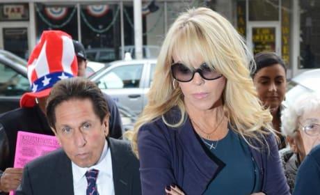 Dina Lohan Blames DUI on Paparazzi