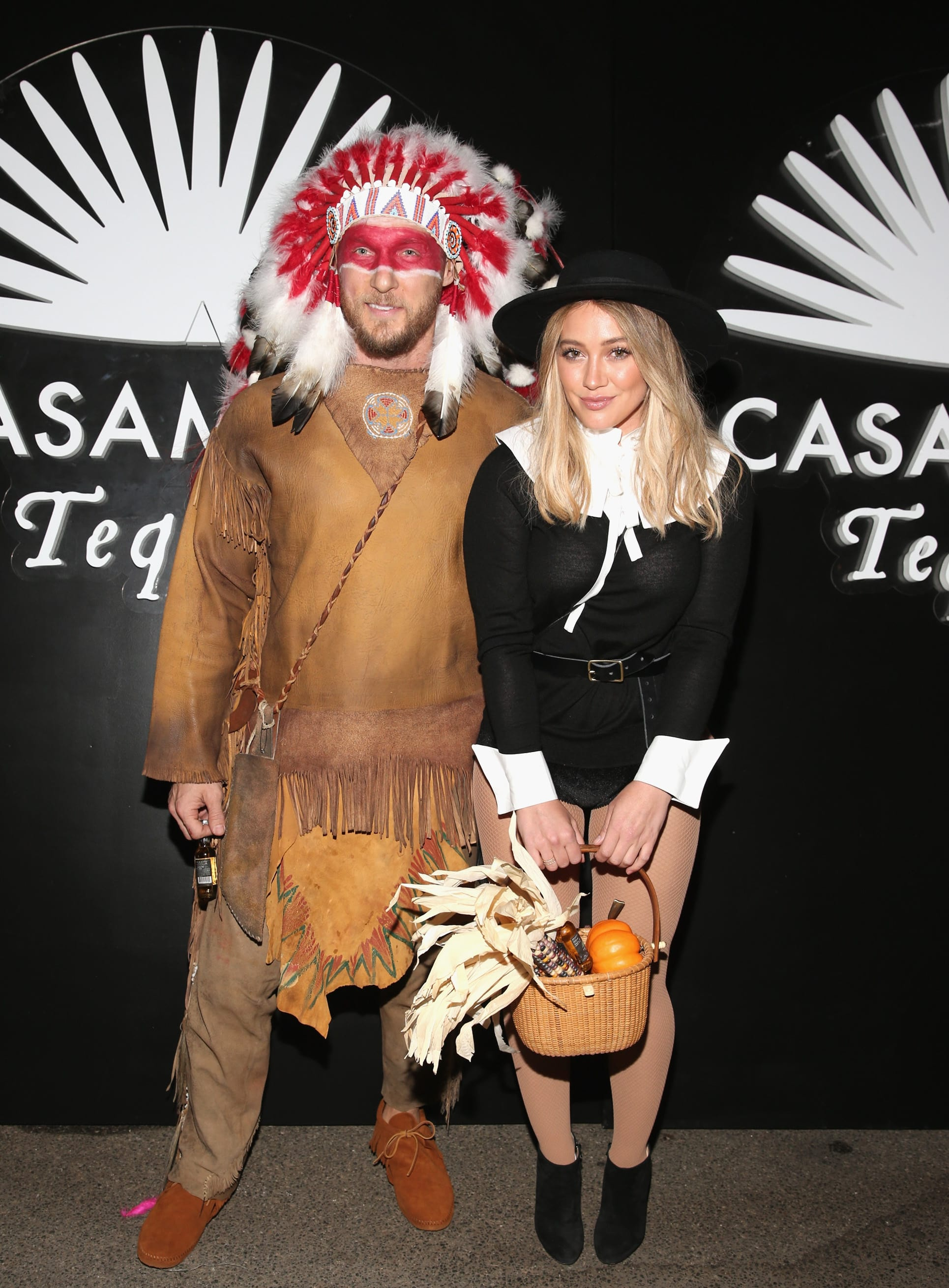 Hilary Duff and Jason Walsh SLAMMED for Offensive Halloween ...