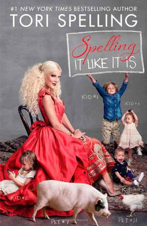 Tori Spelling Book Cover