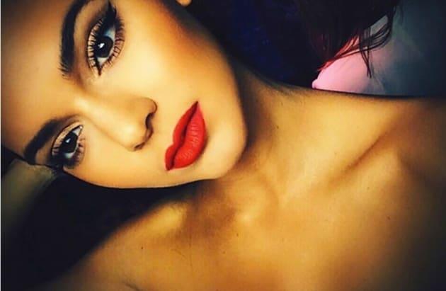 Kendall Jenner Topless Selfie