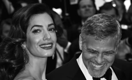 George Clooney with Wife