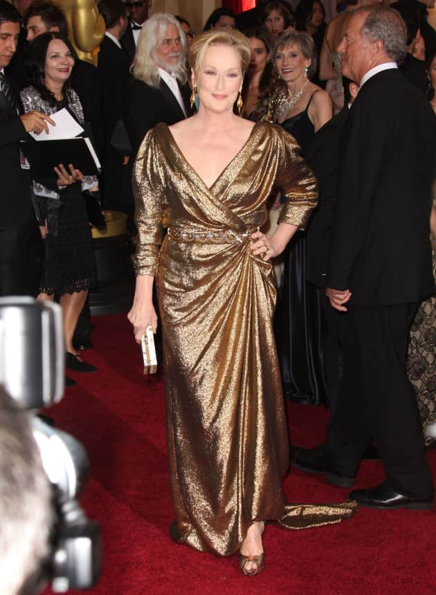 Meryl Streep at the Oscars