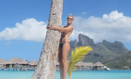 Heidi Klum: Topless on Twitter! Again!